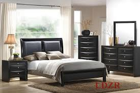 Black Modern Bedroom Furniture For Style Contemporary Sets In White And Dark Colors