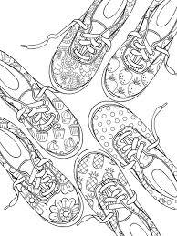 Dover Publications Sneaker Designs Coloring Book