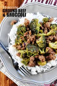 Ground Beef And Broccoli A Healthy Quick Easy Skillet Recipe That Comes