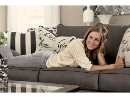 Levon Charcoal Sofa And Loveseat by Signature Design By Ashley Levon Charcoal Queen Sofa Sleeper
