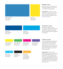 The UCLA Print Color Palette