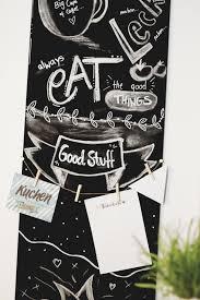 chalkboard diy tafel deko für unter 20 inspirationen