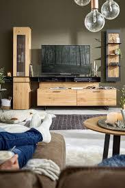 wohnwand natura orlando echtholz möbel wohnzimmer