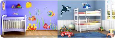 chambre bébé surface large choix de stickers poissons pour chambres de bébé et enfant