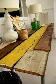 woodworking plan diy reclaimed wood desk