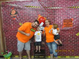 Halloween Scene Setters by Construction Party Photo Opt Brick Wall Scene Setter Cut In Half