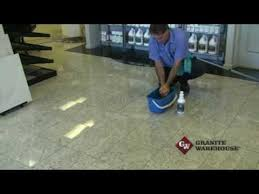 cleaning granite marble engineered or other tiled floors