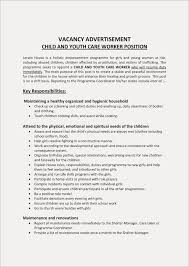 21 Childcare Resume Template Bcbostonians1986 Child And Youth Worker Examples