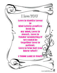Love Coloring Pages Valentine Page Free Kids Bible Verse Gods Full Size