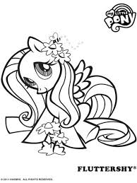 166 Of 203 My Little Pony Fluttershy Print