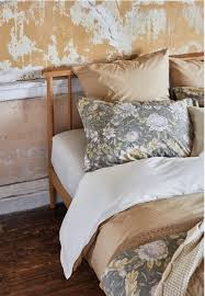 Ornamental Print Pillow Cases And Duvet Cover With Dark Base Zara Home
