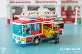 100 Custom Lego Fire Truck LEGO 60002 By The Classic LEGO Station MOC