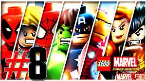That Sinking Feeling Lego Marvel Minikit by Lego Marvel Super Heroes Reiniciado Ajustado Part 8 Detonado 01