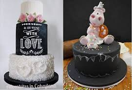 Adventures In Cake Decorating by Chalkboard Cakes Part 2 Cake Geek Magazine