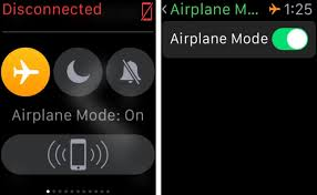 How to toggle Airplane mode on Apple Watch
