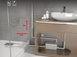 pompe de relevage pour cuisine vd90 pompe de relevage receveur plat watermatic