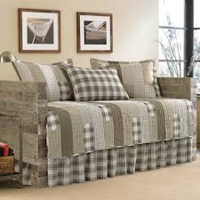 Sand Studio Day Sofa Slipcover by Eddie Bauer Fairview 5 Piece Quilted Daybed Cover Set 39x75 Free
