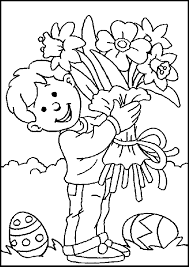 Easter Coloring Sheets Kids