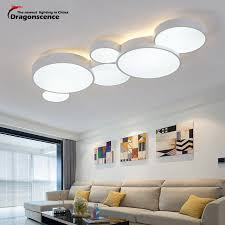 Dragonscence Modern LED Ceiling Chandelier For Living Room Entrance Dining Smart House Lamp Home Lighting