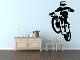aliexpress buy motocross cool wall decal vinyl wall stickers