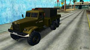 100 Truck Breakdown Service KrAZ Truck Breakdown Service C Kitchen Trailer For GTA San Andreas