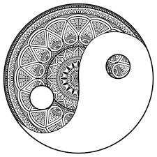 Celtic Mandala Coloring Pages Free Yin Yang Color New Mandalas Zen Anti Stress Book Pdf Finished