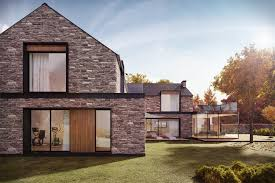 100 Modern Stone Walls Country House With Stone Walls Freelancers 3D