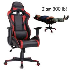 AuAg Ergonomic Gaming Chair Racing Style Adjustable High-Back PU Leather  Office Chair Computer Desk Chair Executive Ergonomic Style Swivel Video  Chair ...