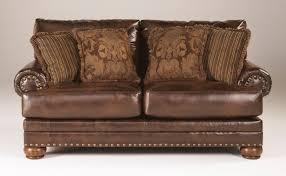 Ashley Larkinhurst Sofa And Loveseat by Buy Ashley Furniture 9920035 Chaling Durablend Antique Loveseat