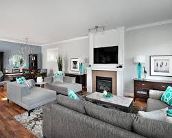 orange and gray living room modern home design ideas house