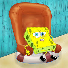 SpongeBob On The Chair By Iedasb On DeviantArt