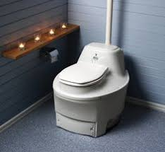 waterless toilets for the home separett villa composting toilet tiny living ideas