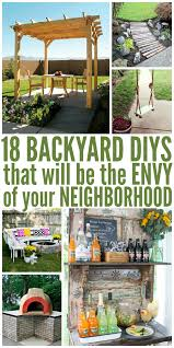 18 Backyard DIY Ideas That Are The Envy Of Your Neighborhood Backyard Landscaping Ideas Diy Best 25 Diy Backyard Ideas On Pinterest Makeover Garden Garden Projects Cheap Cool Landscape 16 Amazing Patio Decoration Style Outdoor Cedar Wood X Gazebo With Alinum Makeover On A Budget For Small Office Plans Designs Shed Incridible At Before And Design Your Fantastic Home