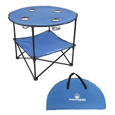 Wakeman Outdoors 2-Tier Folding Camping Table With 4 ... Fold Up Camping Table And Seats Lennov 4ft 12m Folding Rectangular Outdoor Pnic Super Tough With 4 Chairs 120 X 60 70 Cm Blue Metal Stock Photo Edit Camping Table Light Togotbietthuhiduongco Great Camp Chair Foldable Kitchen Portable Grilling Stand Bbq Fniture Op3688 Livzing Multipurpose Adjustable Height High Booster Hot Item Alinum Collapsible Roll Up For Beach Hiking Travel And Fishing Amazoncom Portable Folding Camping Pnic Table Party Outdoor Garden
