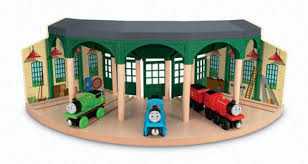 fisher price thomas friends wooden railway sodor fire station