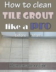 how to clean tile grout ozonesauna club