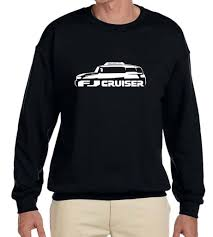Toyota FJ Cruiser Truck Classic Outline Design Sweatshirt NEW | EBay