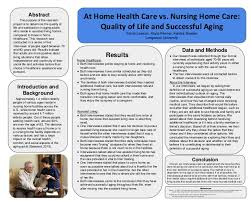 At Home Health Care vs Nursing Home Care Kendra Beyeler Sarah Laws…