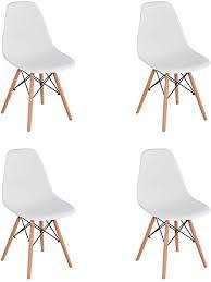 4 stühle esszimmerstühle vormontiert skandinavischer stil