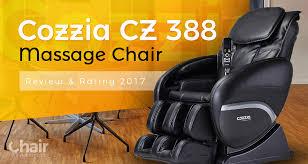 Cozzia Massage Chair 16027 by Cozzia Cz 388 Massage Chair Review U0026 Rating 2017 Chair Institute