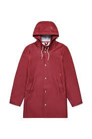stutterheim stockholm burgundy raincoat u2013 stutterheim raincoats