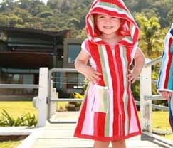 Hooded Sleeveless Beach Robe Towel