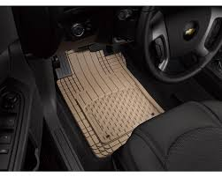 WeatherTech AVM - Semi Universal Trim To Fit Mats - Tan 4 Piece Set