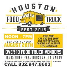 Houston Food Truck Festival 2018 @ Inked Studios, Houston [26 August]