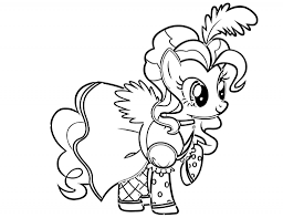 My Little Pony Pinkie Pie Full Style Coloring Pages