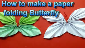 How To Do A Paper Folding Butterfly