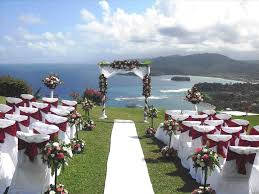 Ceremony Aisle In Love Tide The Knot Packages Perfect Package Gazebo Beach Wedding
