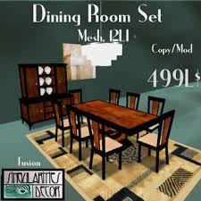 14 Pc French Art Deco Dining Room Set Fusion Series Black Lacquer And Cherry Burl Mesh 12 LI