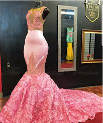 high quality rose gold gown mermaid buy cheap rose gold gown