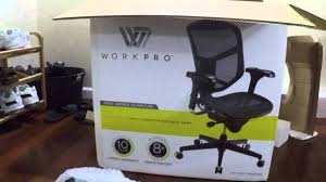 Work Pro Office Furniture by Unboxing Of Workpro 9000 Series Quantum Black Mesh Office Chair